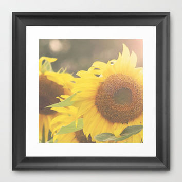 You Are My Sunshine Framed Art Print by {Just Christine}