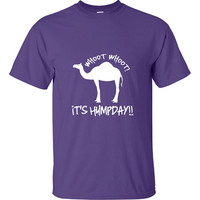 Guess What Day It Is HumpDay Funny T-Shirt Tee Shirt TShirt Mens Ladies Womens Youth Shirt Gifts Funny Camel Hump Day Middle Week Tee ML-060
