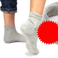 Magnetic Therapy Self-heating Far-infrared Cotton Warm Socks Ankle Health Care
