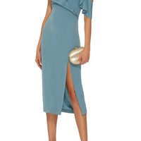 Adela Ruffled Pencil Dress | Moda Operandi