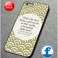 The Great Gatsby quotes for iphone, ipod, samsung galaxy, HTC and Nexus Phone Case