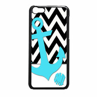 Chevron Anchor Personalized iPhone 5c Case