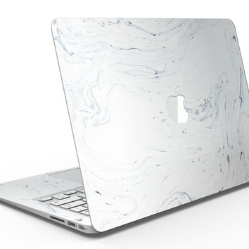 Mixtured Blue and Gray 19 Textured Marble - MacBook Air Skin Kit