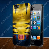 Wolverine Costume, Wolverine Suit case for iPhone 4, 4S, 5, 5S, 5C and Samsung Galaxy s2, s3, s4