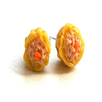 Siu Mai Stud Earrings