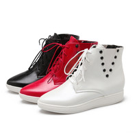 Studded Ankle Boots Women Shoes New Arrival