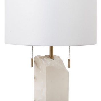 Pearl Alabaster Table Lamp