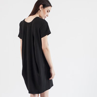 Evelyn Draped Dress