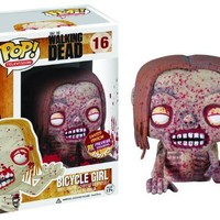 Px Pop Walking Dead Bicycle Girl Zombie Vinyl Figure