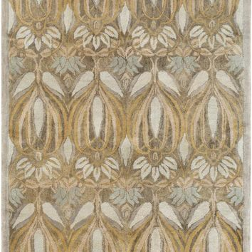 Surya Fitzgerald Arts and Crafts Green FGD-1002 Area Rug