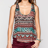Billabong Midday Womens Tank Blue Combo  In Sizes