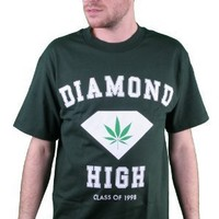 Diamond Supply Co. High Tee Shirt in Green