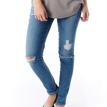 A Gold E Sophie High Rise Skinny Jeans