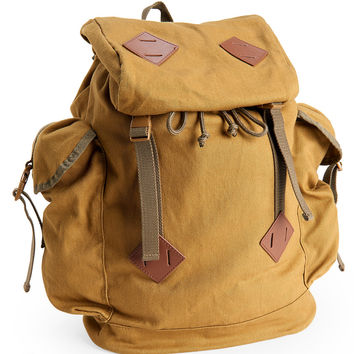 Solid Parachute Buckle Backpack