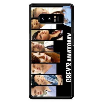 Grey S Anatomy Cover Samsung Galaxy Note 8 Case