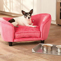 Hot Pink Luxury Small Dog Bed