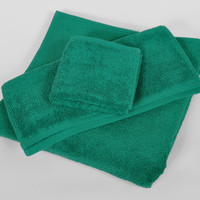Emerald MicroCotton Luxury Towels