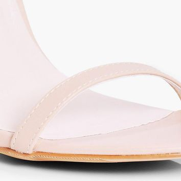 Jemima Wide Fit Two Part Heel | Boohoo