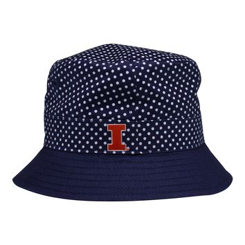 Illinois Pin Dot Bucket Hat