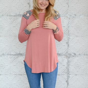 Gingham Style Top