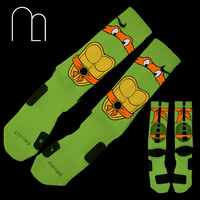 Custom Elites  Orange Turtle by MemoApparel on Etsy