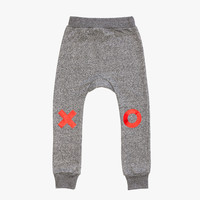 Beau Loves Davenport Pants Grey Graphite Red XO