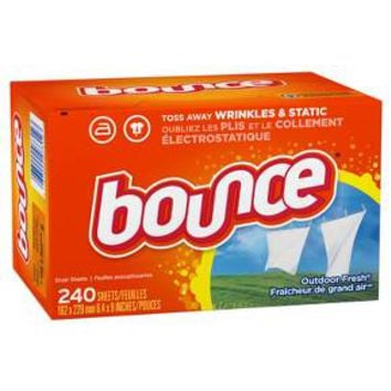 Bounce® Outdoor Fresh Fabric Softener Dryer Sheets - 240ct