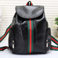 shosouvenir:Gucci Women Leather Bookbag Shoulder Bag Handbag Backpack