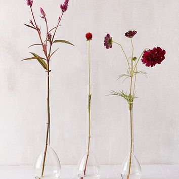 Nina Assorted Teardrop Vases - Set Of 3 | Urban Outfitters