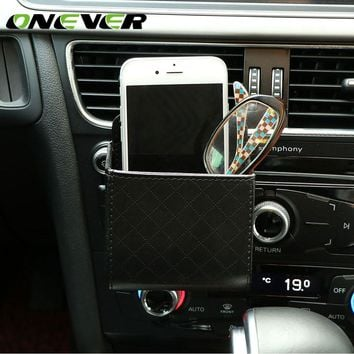 Onever Auto Car Air Vent Hanging Organizer Bag