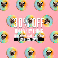 30% OFF on Everything - in my > www.society6.com/lostanaw PROMO CODE: S6FAM #promo #society6 #off #shopping #ineed #puglover #pets #dogs #animals #puglife #pugdonut #pugfood #lostanaw #backpacks #artprint #inspirationart #iphonecases #pugart | puppy, cute