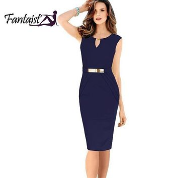 Fashion Women Gown Empire Waist Knee-Length Sequined Elegant Casual Bodycon Pencil Evening Party Dresses Plus Size S-XXL