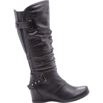 Bare Traps Quivina Knee High Wedge Boot