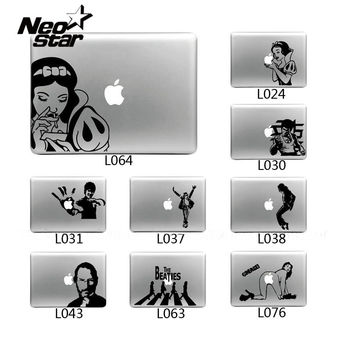 Vinyl Decal Sticker for Apple Macbook Pro / Air 13 inch Laptop Case Cover Snow White Bruce Lee Skin Sticker For Mac Air 11 13 15