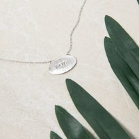Have Faith Charm Necklace