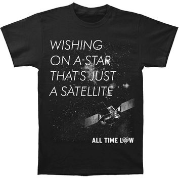 All Time Low Men's  Wishing Star Slim Fit T-shirt Black