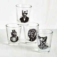 Quirky The Shot Glass Menagerie by ModCloth