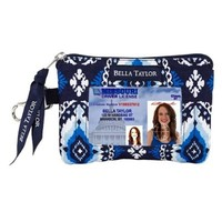 Indigo Island Quilted Cotton ID Please Wallet