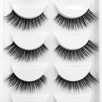 Dramatic Volume lashes in black - 5 PC Produced By SHOWPO