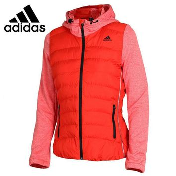 Original Adidas Women's Jacket Hooded Sportswear