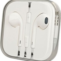 E-XUJING Earphones for Apple Iphone 5 (White)