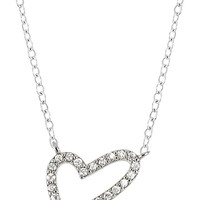 PRECIOUS LUXURIES HEART PENDANT CRYSTAL