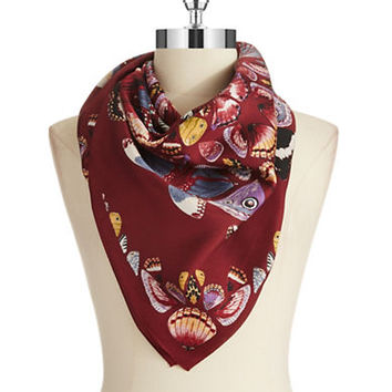 Echo Monarch Silk Square Scarf