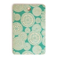 Heather Dutton Delightful Doilies Tiffany Cutting Board Rectangle