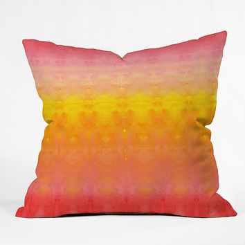 Rebecca Allen Brightly Boldly Brilliantly Throw Pillow