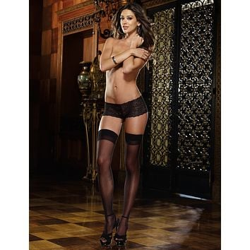 Moulin Thigh High Stockings