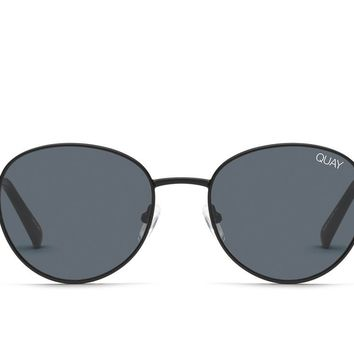 Quay Crazy Love Black Sunglasses / Smoke Lenses