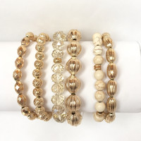 Fabulous & Beaded Stretch Bracelet Set