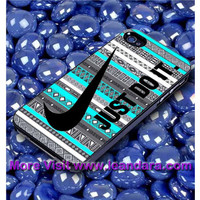 Astec Tribal Just Do It Case for iPhone 6/6plus, iPhone 4/4S/5/5S/5C, iPod 4TH/5TH , Samsung Galaxy S3/S4/S5, Samsung Note 4