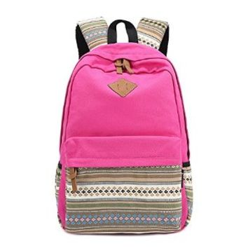 06c5e342366bc0 Vere Gloria Canvas School Bags for Teens from Amazon | Fashion